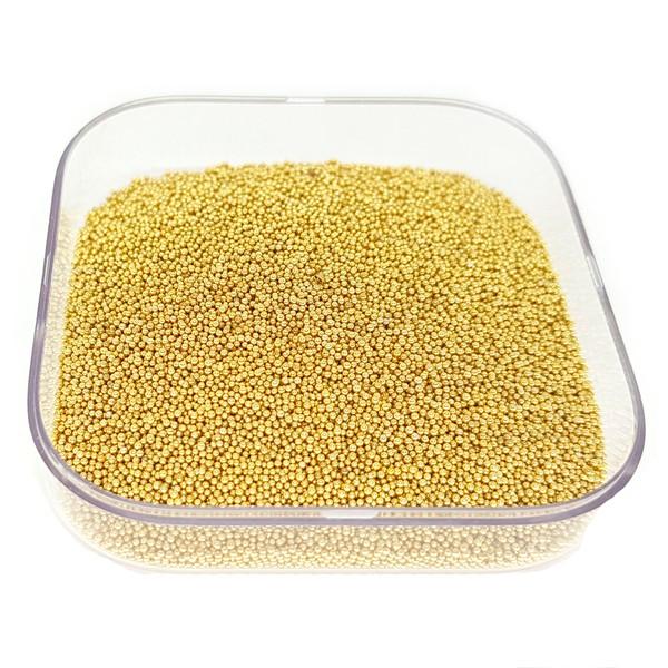 Caviar de vidro cor Ouro.