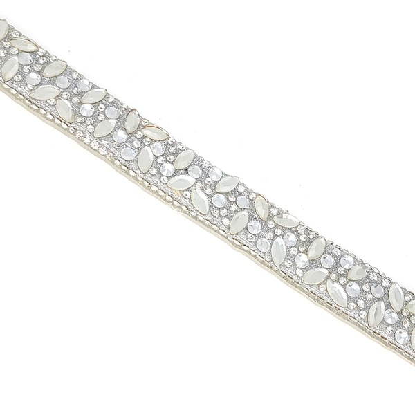 Tira Infinity Large Veneza - Cristal, 40cm.