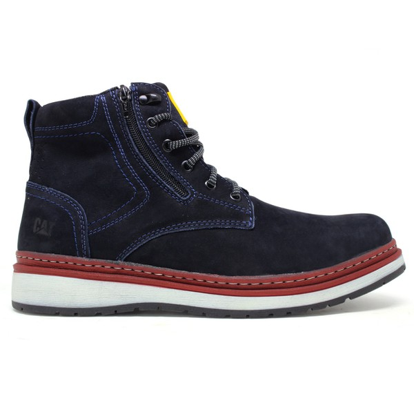 Bota Caterpillar Zip One - Azul Marinho