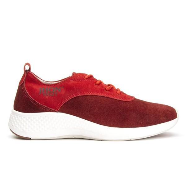 Tênis Jhon Boots Yeezy 3500 - Vermelho
