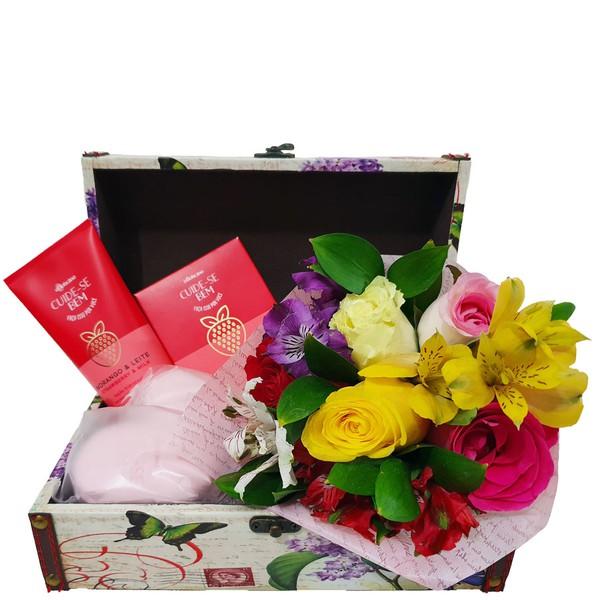 Baú Perfume das Flores
