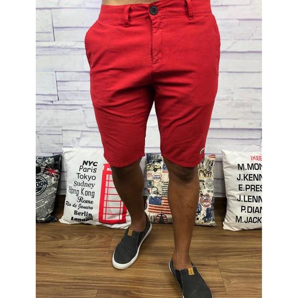 Bermuda Sarja Lct - Vermelha