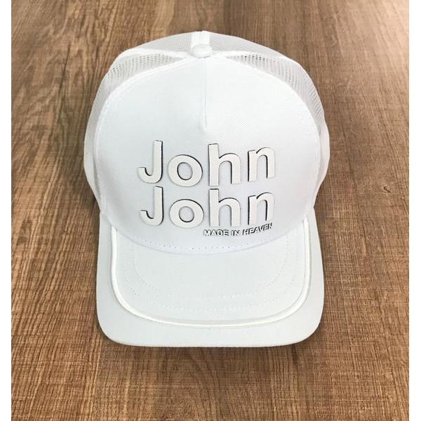 Boné JJ - Branco c/ Borda