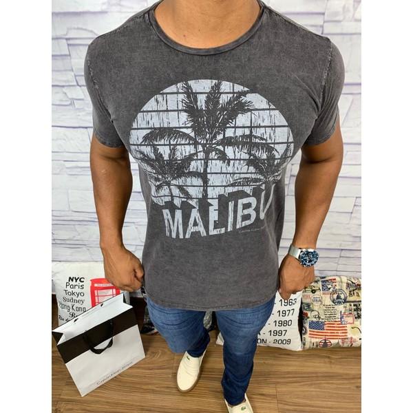 Camiseta Calvin Klein - Chumbo