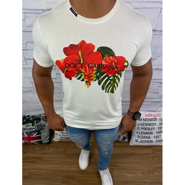 Camiseta Dolce & Gabbana - Creme