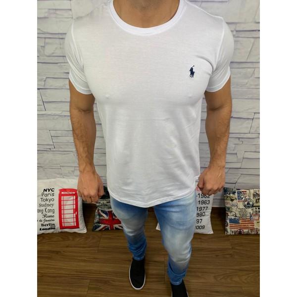 Camiseta Ralph Lauren Branco