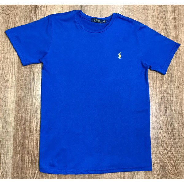 Camiseta Ralph Lauren Azul Bic