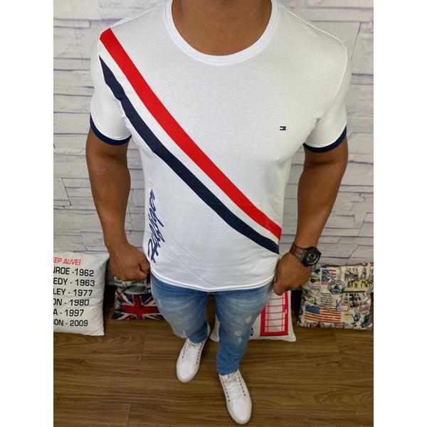 Camiseta Tommy Hilfiger - Diferenciada Branca