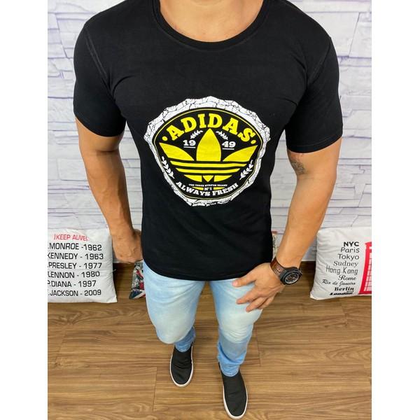 Camiseta Adidas Preto