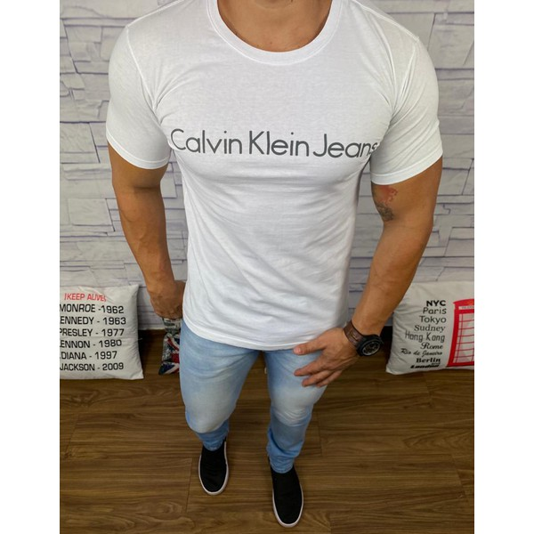 Camiseta Calvin Klein Branco