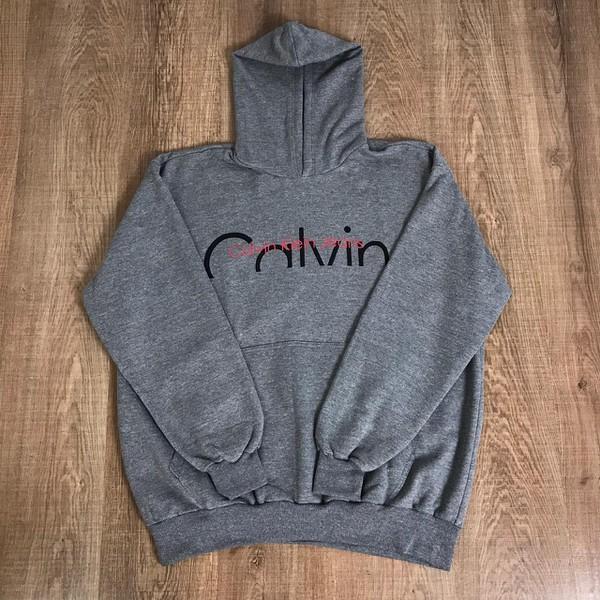 Blusa de Frio Calvin Klein - Cinza