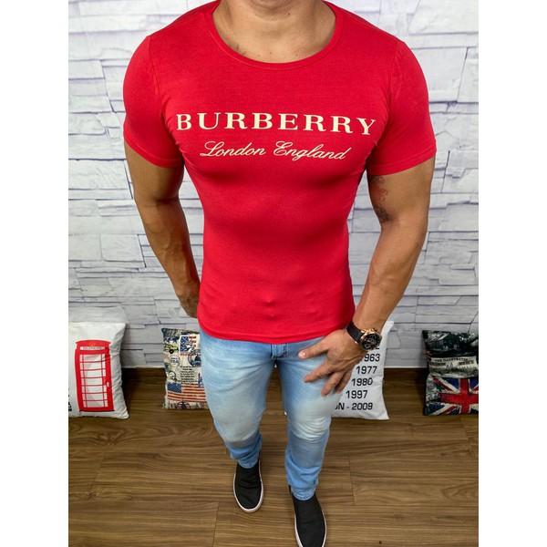 Camiseta Burberry Vermelho