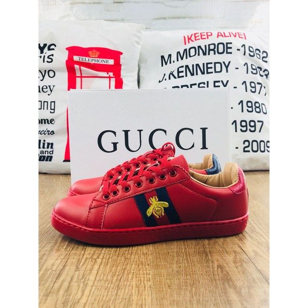 Sapatênis Gucci - Vermelho