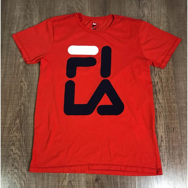 Camiseta Fila - Vermelha