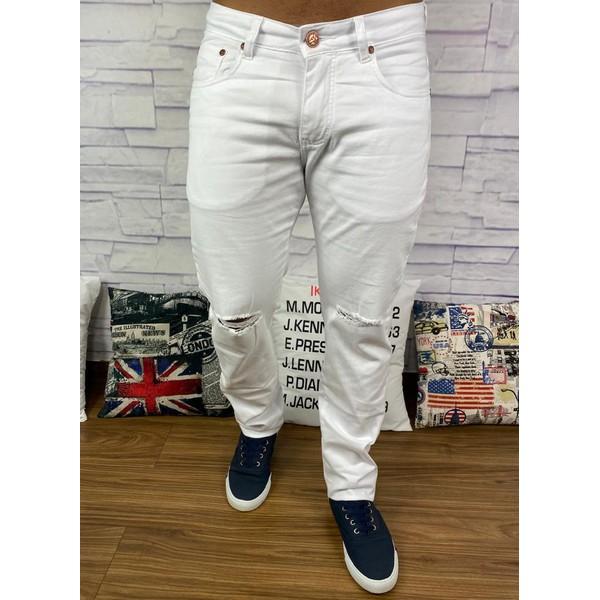 Calça Jeans Armani - Rasgada