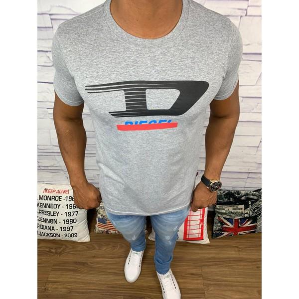 Camiseta Diesel - Cinza Diferenciada