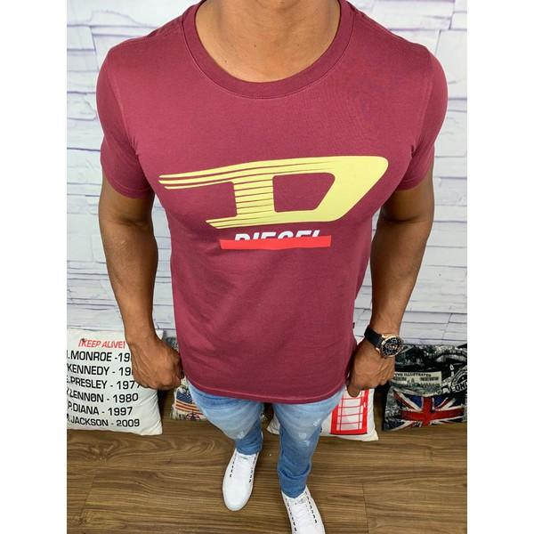 Camiseta Diesel - Vinho Diferenciada