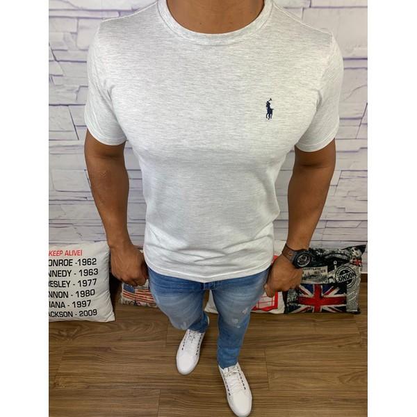 Camiseta Ralph Lauren - Cinza Claro