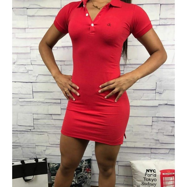Vestido Calvin Klein - Vermelho