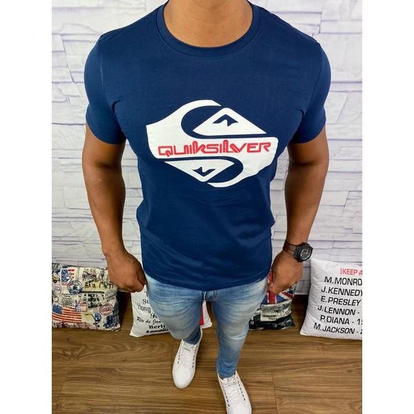 Camiseta QuikSilver - Azul Marinho