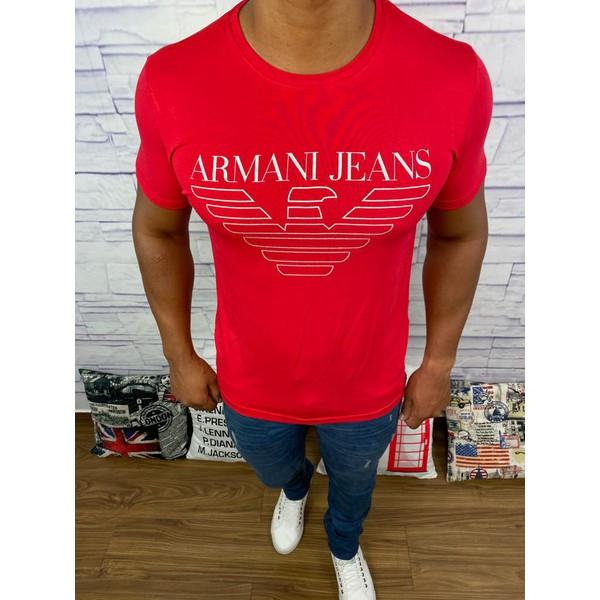 Camiseta Armani - Vermelha