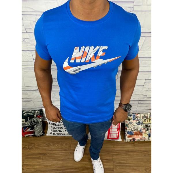 Camiseta Nike - Azul Bic