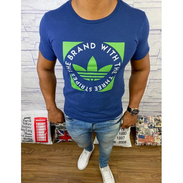 Camiseta Adidas - Azul Marinho