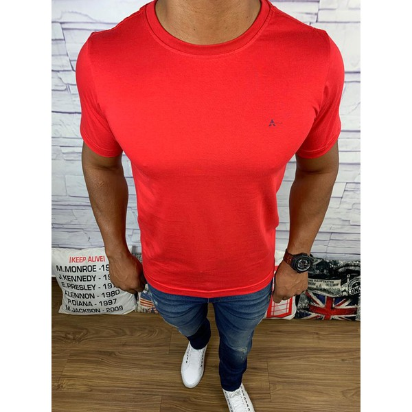 Camiseta Aramis - Vermelha