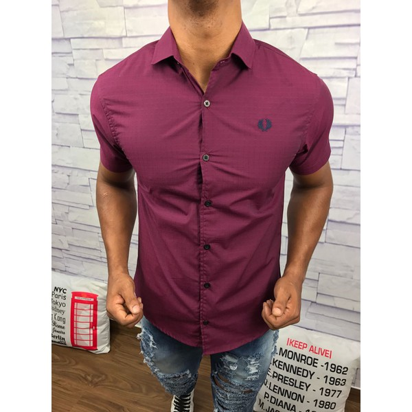Camisa Manga Curta Fred Perry