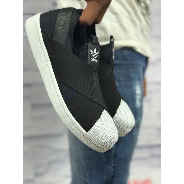Tenis Adidas Slip - Preto