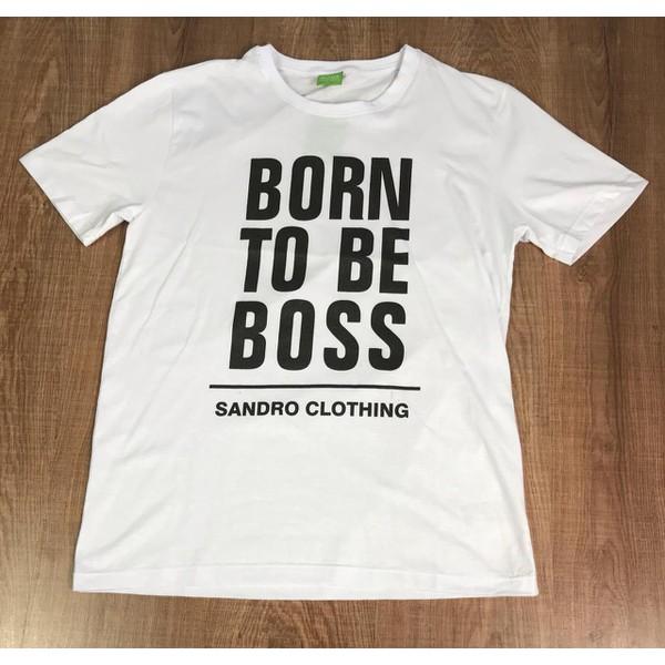Camiseta Hugo Boss - Branca