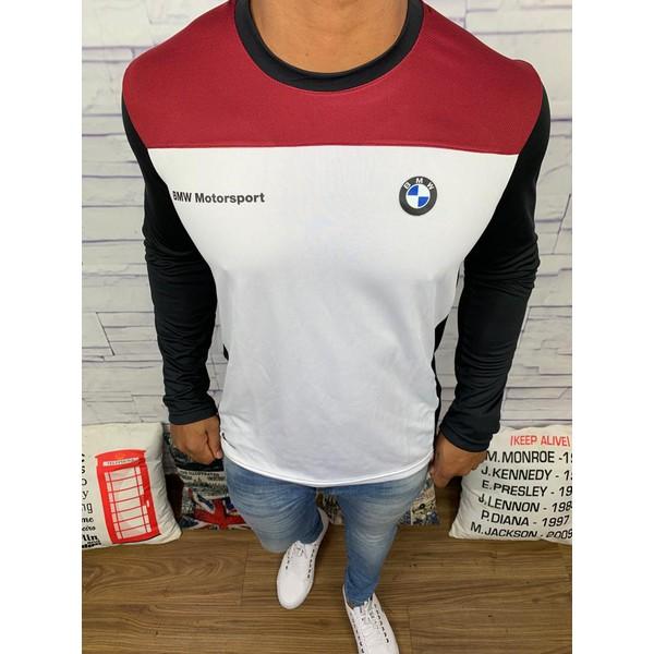 camiseta Manga Longa BMW