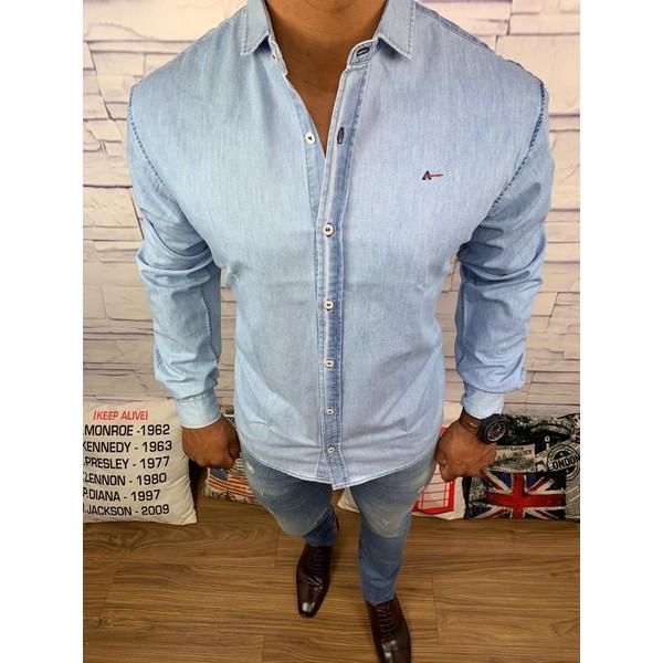 Camisa Manga Longa Aramis Jeans