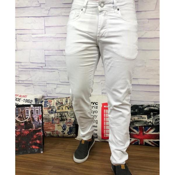Calça Jeans JJ - Branca