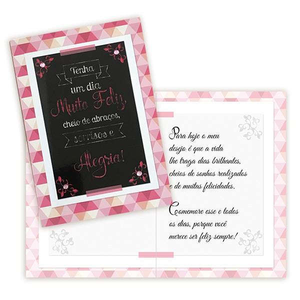 Cartão Dia Muito Feliz!