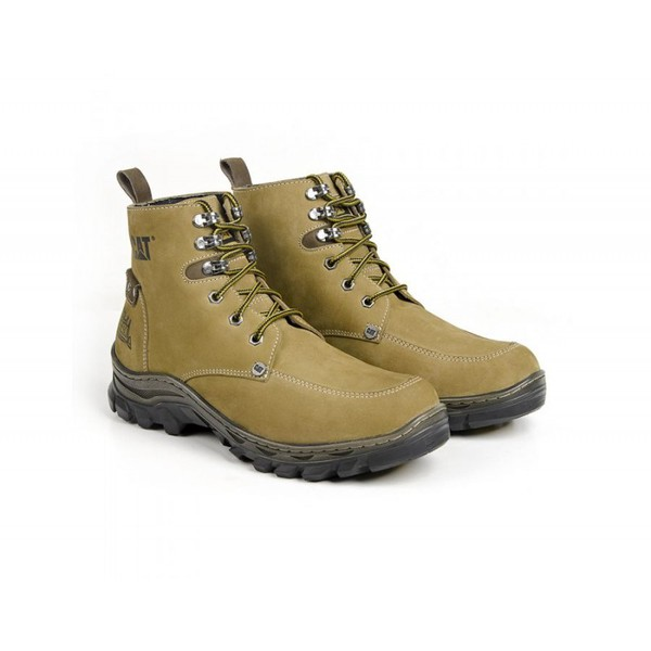 Bota Caterpillar Lumberjack Machine Ocre