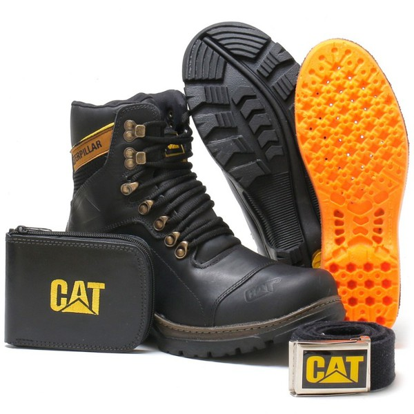 Bota Caterpillar R29 Shift Puls Preto + Brindes