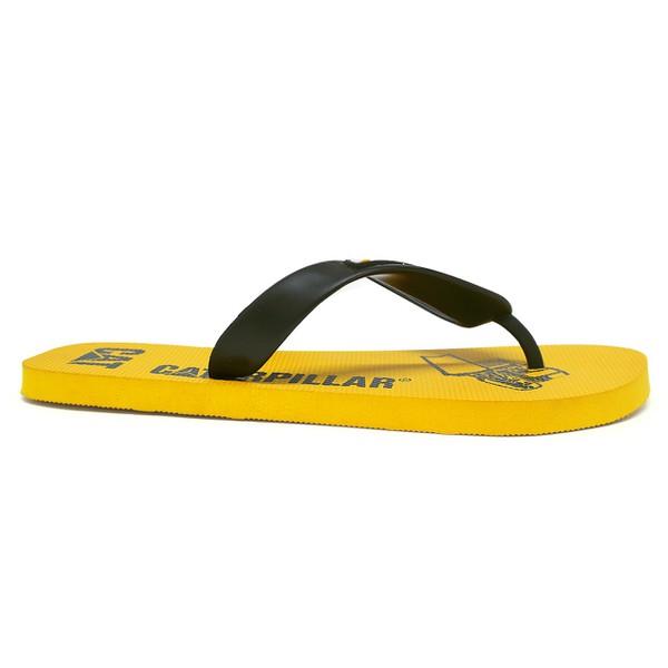 Chinelo Caterpillar - Amarelo