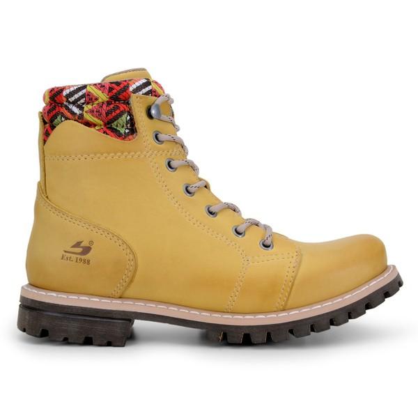 Bota Feminina Bradok Levee - Sleeky Amarelo