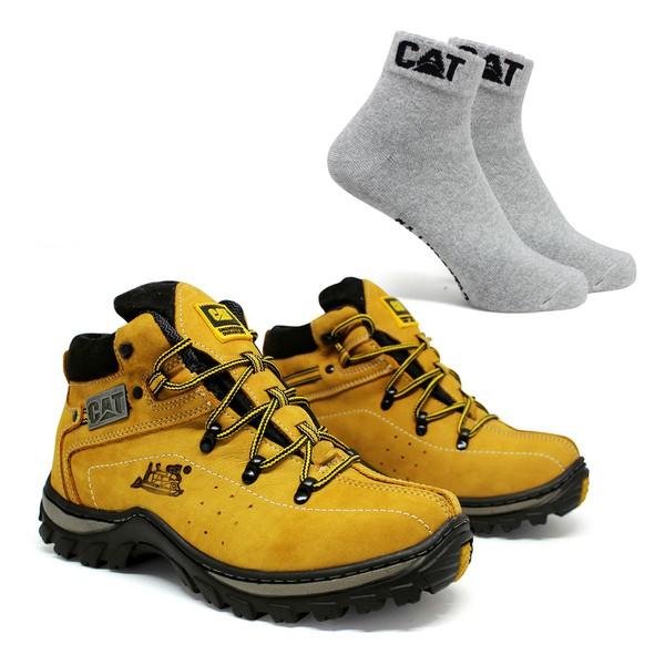 Bota Adventure CAT Experience - Milho + Meia Cat