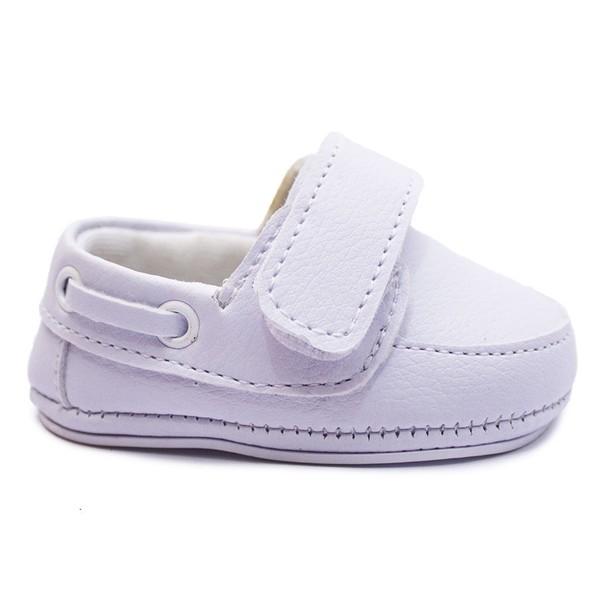 Tênis Infantil Baby Way c/ Velcro - Branco