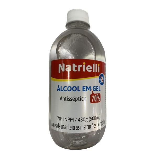 ALCOOL GEL 70% 430GR ANTISSEPTICO