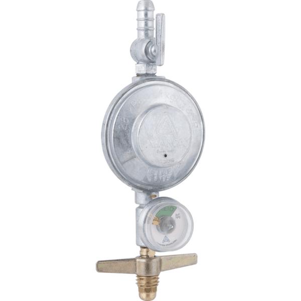Regulador De Gás Blindado Com Manômetro E Sem Mangueira 1 Kg/H 504/01 - Aliança