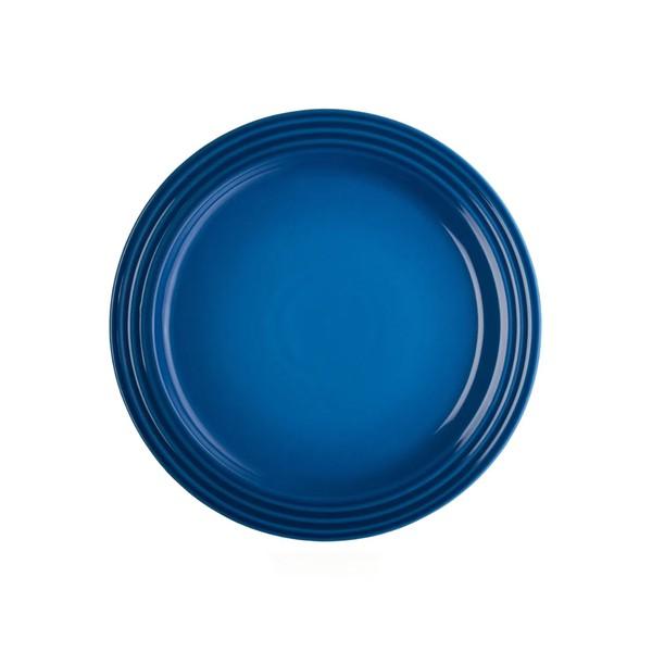 Prato Redondo 23 cm Azul Cobalto