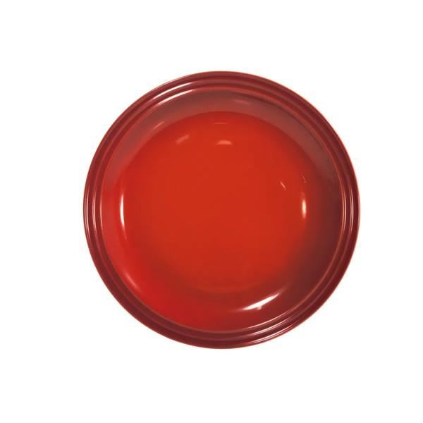 Prato Redondo 23 cm Vermelho