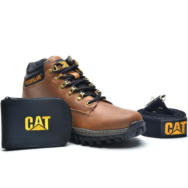 Kit Caterpillar Bota 2188 - Avelã
