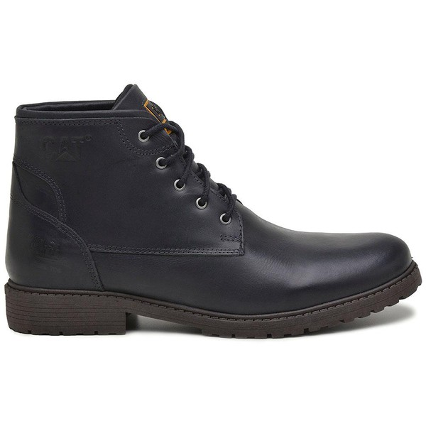 Bota Cat Officer - Preto