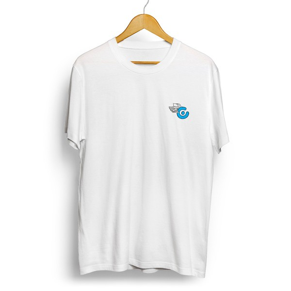 Camiseta Célula Log Fly - Branco