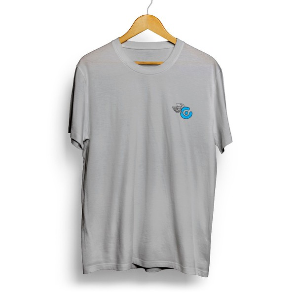 Camiseta Célula Log Fly - Cinza