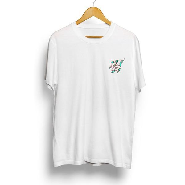 Camiseta Célula Splash - Branco